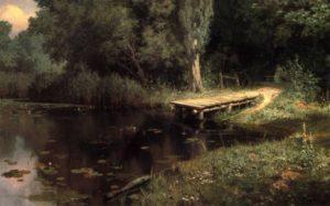 В.Поленов Заросший пруд